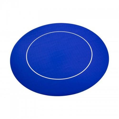 tapis neoprene et jersey rond bleu 120x120cm shop 625. Black Bedroom Furniture Sets. Home Design Ideas
