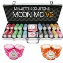 Mallette de 500 jeton de poker MOON MC
